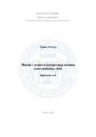 prikaz prve stranice dokumenta Metode i sredstva kažnjavanja učenika osnovnoškolske dobi