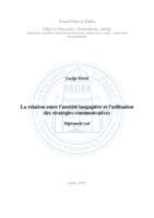 prikaz prve stranice dokumenta La relation entre l'anxiété langagière et l'utilisation des stratégies communicatives