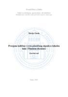 prikaz prve stranice dokumenta Procjena količine i vrste plastičnog otpada u želudcu tune (Thunnus thynnus)