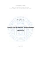 prikaz prve stranice dokumenta Medijski sadržaji u nastavi Hrvatskog jezika
