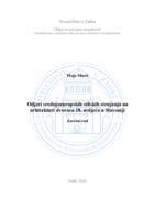 prikaz prve stranice dokumenta Odjeci srednjoeuropskih stilskih strujanja na arhitekturi dvoraca 18. stoljeća u Slavoniji