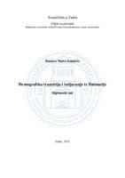 prikaz prve stranice dokumenta Demografska tranzicija i iseljavanje iz Dalmacije