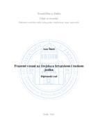 prikaz prve stranice dokumenta Frazemi vezani uz čovjeka u hrvatskom i ruskom jeziku