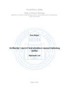 prikaz prve stranice dokumenta Atribucije i stavovi kod učenika u nastavi latinskog jezika