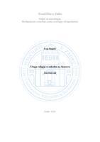 prikaz prve stranice dokumenta Uloga religije u sukobu na Kosovu