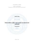 prikaz prve stranice dokumenta Elektroničko nasilje i neki aspekti moralnosti kod studenata
