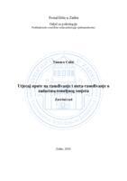 prikaz prve stranice dokumenta Utjecaj upute na rasuđivanje i meta-rasuđivanje u zadacima temeljnog omjera