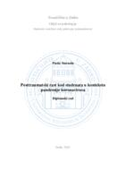 prikaz prve stranice dokumenta Posttraumatski rast kod studenata u kontekstu pandemije koronavirusa