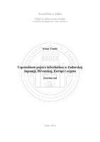 prikaz prve stranice dokumenta Usporednost pojave tuberkuloze u Zadarskoj županiji, Hrvatskoj, Europi i svijetu