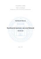 prikaz prve stranice dokumenta Ranobizantski kastrumi u sjevernoj Dalmaciji