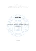 prikaz prve stranice dokumenta Prednosti i nedostaci online novinarstva